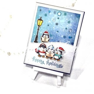 """Christmas time"" corso cardmaking"